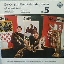 "7"" RARE! ERNST MOSCH EGERLÄNDER MUSIKANTEN : EP UX 5071"