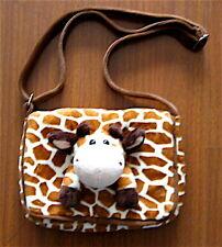 Giraffe Plush Purse, Giraffe Pocketbook Handbag, Girls