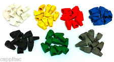 PACK OF 70 MIXED COLOUR RJ45 SNAGLESS NETWORK CABLE PLUG HOODS BOOTS CAT5e CAT6