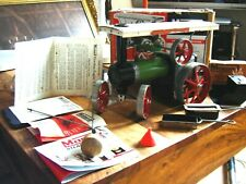 VINTAGE RETRO 1970s MAMOD TRACTION ENGINE T.E.1. BOXED WITH ACCESSORIES