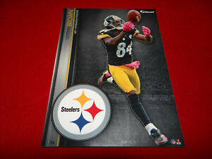 """ANTONIO BROWN  2013 NFL FATHEAD TRADEABLES 5"""" x 7"""" PITTSBURGH STEELERS - #74"""