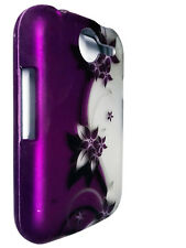Purple Vine Hard Faceplate Snap On Cover Phone Case for Pantech Renue P6030