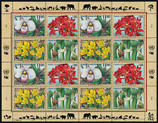 United Nations - Geneva 283a sheet MNH Flowers, Orchids