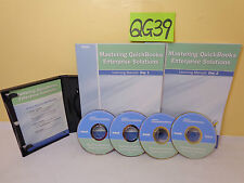4 Mastering Intuit QuickBooks 2007 Training CD Rom by Real World Training+books
