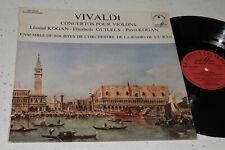 Le Chant Du Monde LDX 78533 Leonid Kogan Vivaldi Concertos Elisabeth Gilels NM