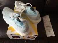 ADIDAS ULTRABOOST ULTRA BOOST UNCAGED ICE BLUE CORAL PARLEY SIZE UK 7.5 9.5  NEW