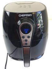 Chefman Air Fryer with Digital Display Adjustable Temperature Control 2.5L Black