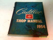 VINTAGE ORIGINAL 1954 CADILLAC SHOP MANUEL
