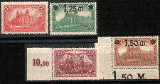 RARE EARLY GERMAN EMPIRE STAMPS w OVERPRINTS! ALL MNH! 1, 1.25, 1.50, 2.50 Marks