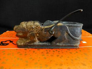 Antique China Tibean wood-Smith Alignment tool 西藏墨斗