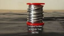 PLUMBERS LEADED SOLDER SOLD PER METRE IDEAL FOR CENTRAL HEATING/DIY/SPEEDFIT