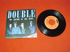 "DOUBLE ""THE CAPTAIN OF HER HEART/YOUR PRAYER TAKE ME OFF"" POLYDOR 1985 Ita"