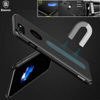 For Apple iPhone 7 8 Plus Ultra Thin Shockproof Case TPU Magnet Protection Cover