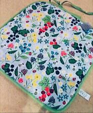 4 Gisela Graham Kitchen Garden Cotton Reversible Seat Pads & Ties