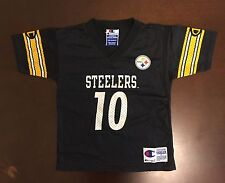 Rare Vintage Champion NFL Pittsburgh Steelers Kordell Steward Toddler Jersey 4T