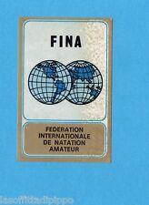MUNCHEN/MONACO '72-PANINI-Figurina/Stemma n.73- NUOTO  -Rec
