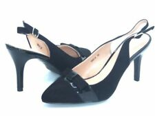 Stiletto Suede Patternless Slingbacks for Women