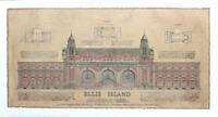 Ellis Island New York Roger Vilar Color Architecture Poster 14 x 26