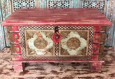Handmade Indian Storage Trunk, Treasue Chest, Furniture, Home And Living.