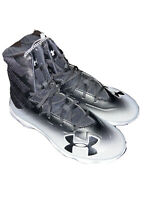 Boys Under Armour Highlight Football Cleats Size 6 Youth Black White