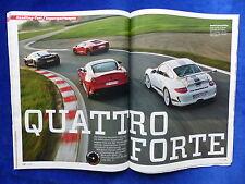 Ferrari 599 GTO Lamborghini Aventador McLaren - Auto Motor Sport Heft 01/2012