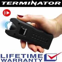 Terminator SGTA - 999 MV Stun Gun with Ear-Piercing Siren + Taser Holster