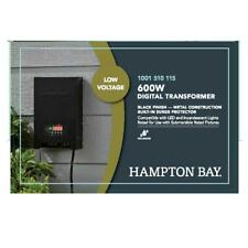 Hampton Bay Landscape Transformer Digital Timer Low Voltage 600 Watt Outdoor