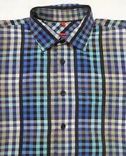 Karierte bequem sitzende Herren-Freizeithemden & -Shirts mit Kentkragen Signum