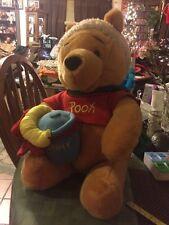 Adorable Stuffed Winnie The Pooh Christmas Holiday Decoration Disney