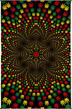 3D Weed Vortex Art Wall Tapestry 60 X 90 Free Shipping & Glasses 76143