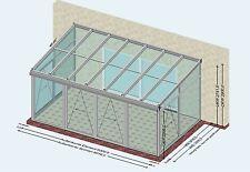 WINTERGARTEN 6 x 3,5 m 21m2  NEU - PCV - ALUMINIUM - 3FACH GLAS - LED - WÄRME WG