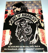 Charlie Hunnam SONS OF ANARCHY original A2 Werbe Plakat 2013