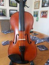 More details for good antique violin by jokum clausen of svendborg (1918)