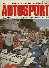 Autosport 1st de junio 1972 * * Acrópolis Rally