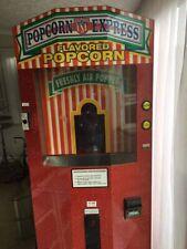 More details for popcorn usa express vintage fullsize popcorn vending machine