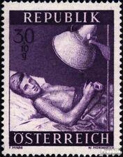 Oostenrijk 999 gestempeld 1954 Gezondheid