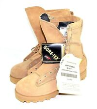 Mens Size 8.5 BELLEVILLE ARMY COMBAT TEMPERATE WEATHER GORE-TEX TWB Boots Hiking