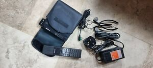 Sony Discman D-99 vintage portable CD player bundle, with ALL accessories