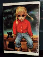 Collectible unused vintage greeting cards for sale ebay big eyes art margaret keane the runaway 5 x 7 frame able greeting m4hsunfo