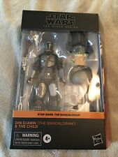 Star Wars Black Series Din Djarin (The Mandalorian) & The Child Target In Hand