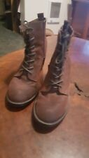 ZODIAC Women's Ankle Lace Up Granny Boots Suede Size 8.5