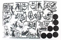 Warhammer 40k Death Guard Nurgle Plague Marines set of 7 miniatures on sprue