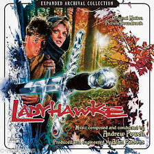 LADYHAWKE Andrew Powell + Alan Parsons 2-CD La-La Land LTD Soundtrack SCORE New!