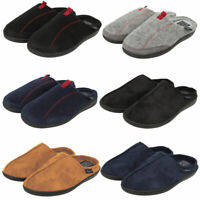 New Mens Tokyo Laundry Branded Fleece Lined Slippers Size 7 - 12