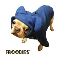 French Bulldog Boston Terrier Pug Dog Froodies Hoodies Royal Blue Coat