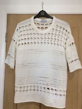Next White Large Knitted Jumper