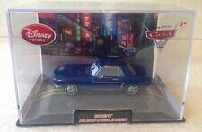 Disney Store Die Cast Cars 2 Brent Mustangburger Plastic Case
