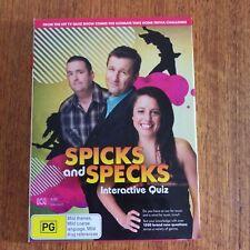 Spicks And Specks - Interactive Quiz (DVD, 2007)