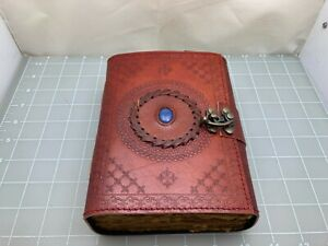 Judd's Beautiful Handmade Leather Journal w/Handmade Paper - Unique!