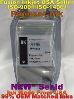 cartridge fits PFI-106 pfi-105 bk black canon ipf 6400 ipf 6400s ipf 6400se Ink